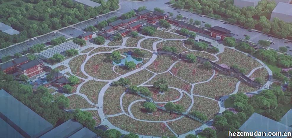 菏泽曹州百花园提升改造工程已启动